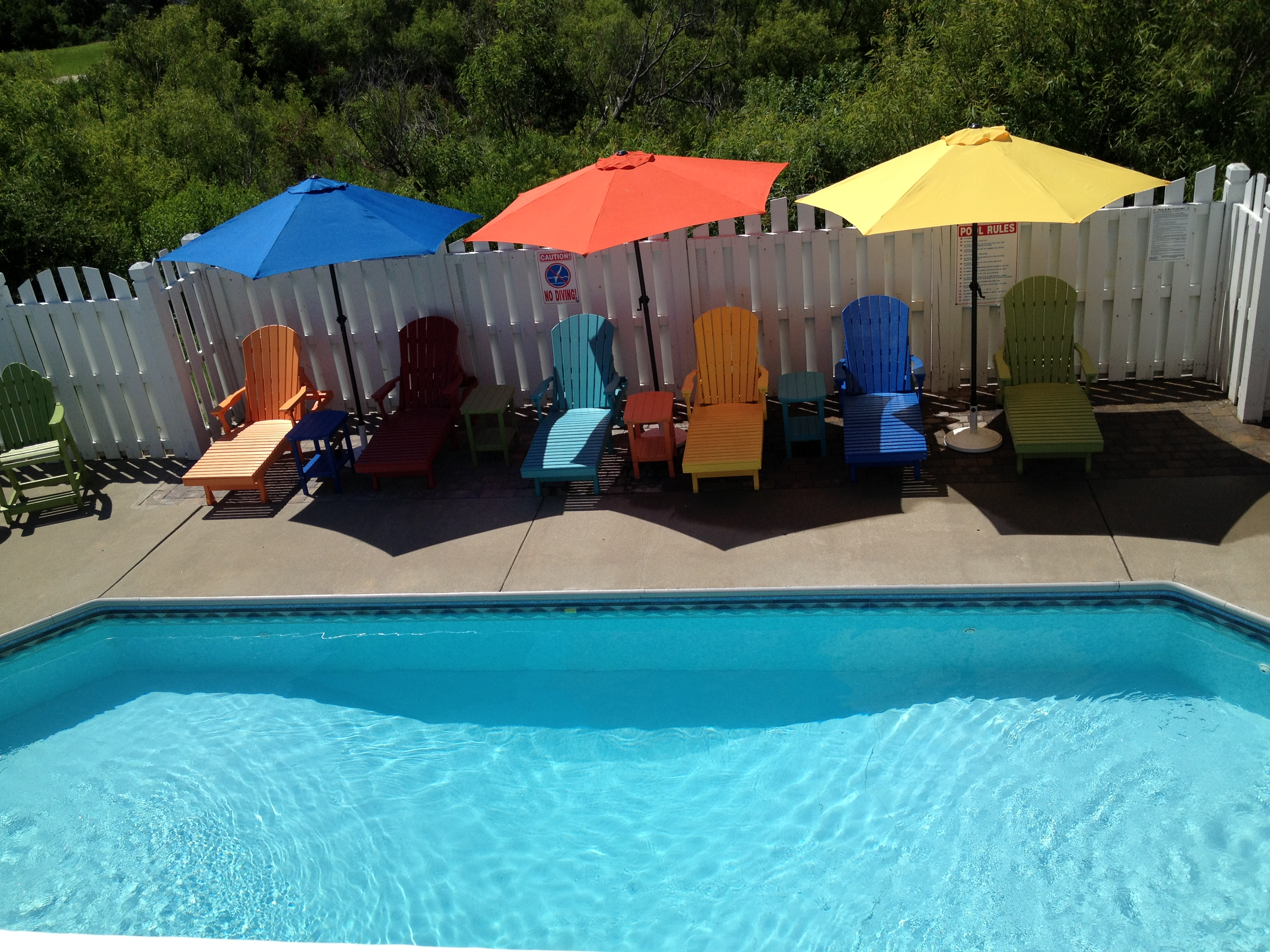 This is what your pool could look like after a visit from your local OBX pool cleaner!